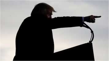 Donald Trump at rally in Florida