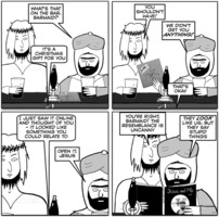 Jesus and Mo: Uncanny