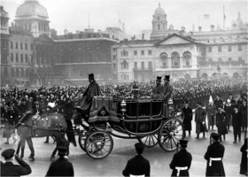 King George VI funeral procession 1952