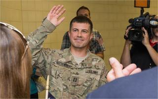 U.S. Soldier Pete Buttigieg