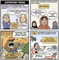 Jen Sorensen: Astroturf Twins