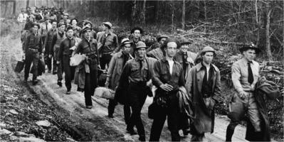 Civilian Conservation Corps recruits